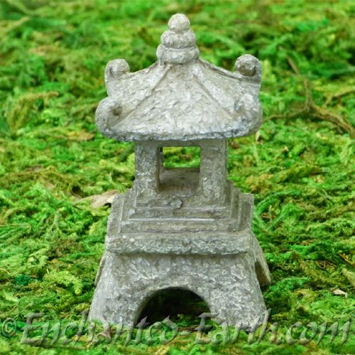Vivid Arts  Miniature World   Japanese Miniature Garden  Fairy Garden  Pagoda.